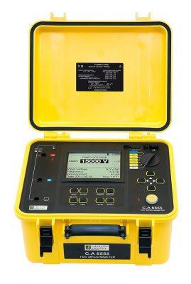 Máy đo điện trở cách điện Chauvin Arnoux CA 6555