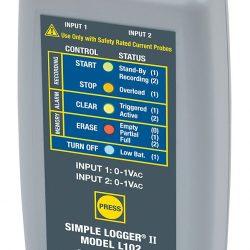 Máy ghi dữ liệu dòng điện Chauvin Arnoux L102