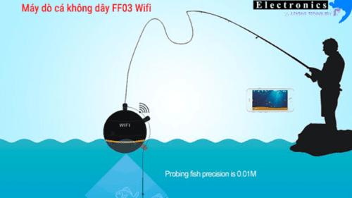 kết nối wifi của Máy dò cá không dây FF03