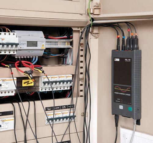 Máy ghi dữ liệu dòng điện 3 pha Chauvin Arnoux PEL102