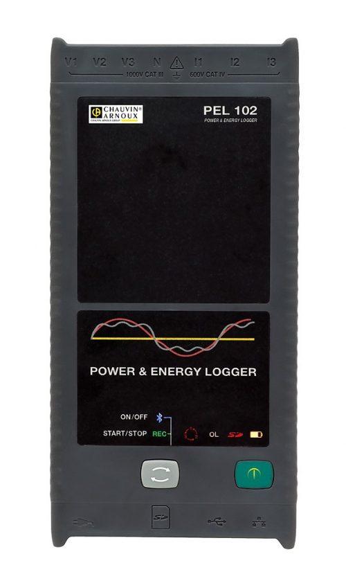 Máy ghi dữ liệu dòng điện 3 pha Chauvin Anoux PEL102