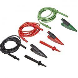 Bộ dây đo Fluke TL1550B với kẹp cá sấu (Đỏ, Đen, Xanh lục)