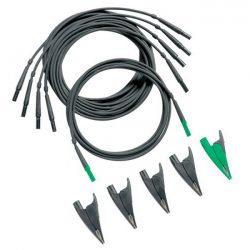 Bộ dây đo và kẹp cá sấu Fluke TLS430 (4 đen 1 xanh)