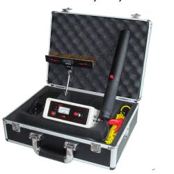 Máy dò khuyết tật bề mặt lớp phủ Huatec HD201A/B/C
