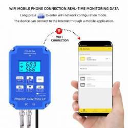 Bộ điều khiển khử oxy PH ORP Wifi YiERYi PH-803W