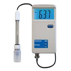 Máy đo độ pH với đầu dò cáp PeakTech P5310
