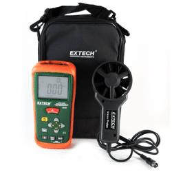Máy đo tốc độ gió kết hợp nhiệt kế hồng ngoại Extech AN200