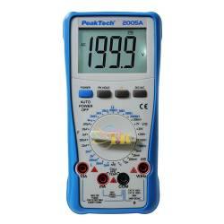 Đồng hồ vạn năng kỹ thuật số PeakTech P2005 A