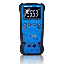 Đồng hồ vạn năng kỹ thuật số PeakTech P2040